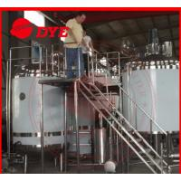 Quality Pipe Welding Semi-Automatic Beer Brewing Tanks Mirror Polish Inner Surface for sale
