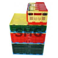 Quality plastic foldable crate for sale