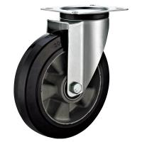 Quality Europe Style Heavy Duty Industrial Wheels / Noise Reduced Industrial Swivel Casters for sale