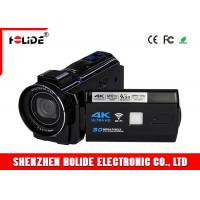 Quality 4K WIFI High Definition Digital Camcorder With 3.7V 2500mAh Rechargeable Battery for sale