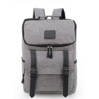 Quality Portable Laptop Travel Bag , Grey Computer Bag Backpack Style 32*43*17 Cm for sale