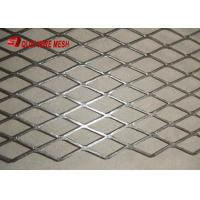 Quality Decorative Diamond Micro Expanded Metal Mesh sheet Aluminium Netting With Small Size Hole for facade of building for sale