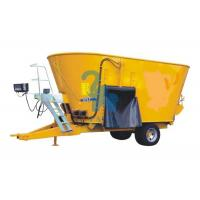 Buy Mobile Feed Mixer Twin Augers Fodder Mixer Machine For Dairy Cows' Farm at wholesale prices