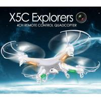 Quality X5C 2.4GHz 4CH 6-Axis GYRO RC Quadcopter Drone Toy 2MP Fly Camera Recorder 360° Eversion for sale