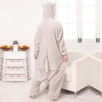 Buy Totoro Cartoon Flannel Conjoined Pajamas at wholesale prices