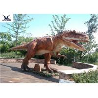 Quality Playground Decoration Giant Dinosaur Statue Realistic Moving Animatronic for sale
