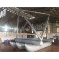 China Special Design Grey Inflatable Fly Fishing Boats For Sailing Games Use on sale