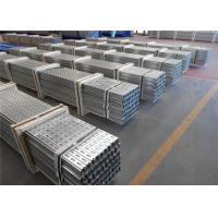 Quality Silver Galvanized Steel Profile Solar Mounting System PV Module Components for sale