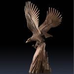Quality 2016 high quality bronze animal statue of bronze eagle statue for sale for sale