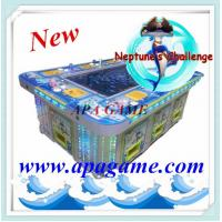 Quality 55 inch 10P Neptune's Challenge 1000 shoot fishing game machine for sale