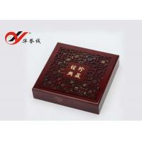 High Grade Wood Pearl Necklace Box Size Customized For Jewelry Display