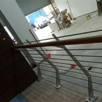Quality DIY stainless steel balustrade systems with solid rod bar design for sale