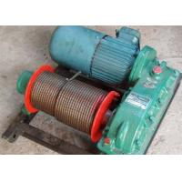 Quality 10t towed wire rope electric winch for construction pulling for sale