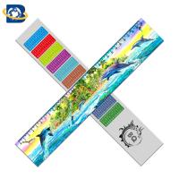 Quality 3d Or Flip Change Custom Printed Plastic Rulers For Kid Stationery for sale