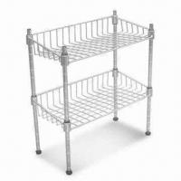 Quality Wire Rack, Measures 36 x 18 x 36-inch, Strong Structure with Roller Wheel for sale