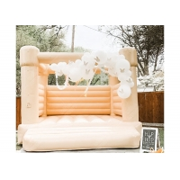 Quality Outdoor Wedding Party Girls Hot Pink Bouncy Castle Inflatable Jumping Castle for sale