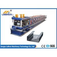 Quality 2018 New Type Automatic CNC Control High Speed C Purlin Roll Forming Machine at factory direct sell price for sale