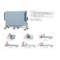 China Mobile Folding Manual Hospital Bed For Attendant Nursing People on sale