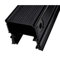 Buy Black Anodized Aluminum Extrusions For Electronics / Electrical Cover / at wholesale prices