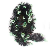 Quality Decorative Black Boa For Halloween Party for sale