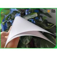 Quality High Glossy Art Paper 2 Side Coated White Color For Book Cover Printing for sale