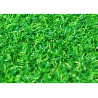 Quality Natural Looking Mini Golf Green Artificial Turf PE Curled Yarn Non - Toxic for sale