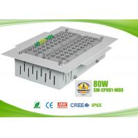 Quality IP65 80 watts led gas station canopy lights with CREE chip , AC90 - 295V for sale
