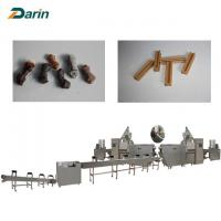 Buy cheap Dog Snacks Processing Extruder machine pet snacks making line from wholesalers