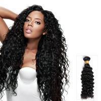 Quality No Tangle 100g Virgin Brazilian Loose Wave Hair / Human Hair Weave Bundles for sale