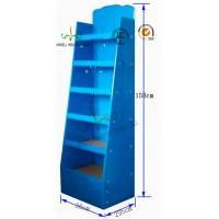 Buy Dual Function Cardboard Counter Display Stands , Cardboard Floor Display Stands at wholesale prices