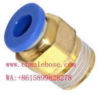 Quality push in fittings, PL, PC, PV male fittings, pneumatic fittings,plastic fittings for sale