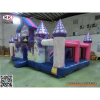 Buy cheap PVC Multifunctional Giant Inflatable Castle For Baby Jumping Pleasure Park 8 x 4.5 x 4m from wholesalers