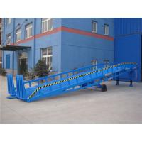Quality Adjustable Warehouse Mobile Loading Ramp 8T 14 ton For Container Loading & Unloading for sale