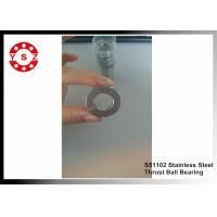 Quality S51102 Single Direction Thrust Ball Bearing 304 440 420 Stainless Steel for sale