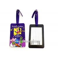 Quality Soft PVC rubber luggage tag supply personalized luggage tag custom for sale
