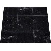 Quality China Nero Black Marquina Marble Black and White Nero Marquina polished antique stone marble slabs tiles for sale