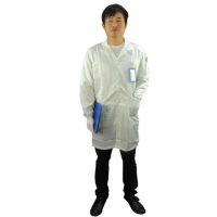 Quality 5mm Strip Cleanroom Smock for sale