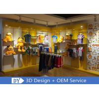 Quality Nice Fresh Wooden Lacqer Children's Boutique Store Fixtures With Led Lighting for sale