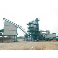 Quality 50T Hot Storage Bin 2 Cubic Meter Asphalt Batching Plant With Auto Correction for sale
