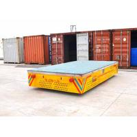 Quality Rubber Wheels Trackless Turnning Self-driven Cart For Port Transportation for sale