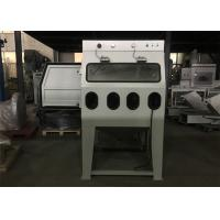 China Mixed Water Wet Abrasive Blasting Cabinet , Recycle Common Sandblast Cabinet on sale