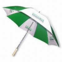Quality 30 Inches Golf Umbrella with Double Ribs for sale