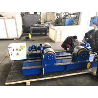 China 30T Conventional Pipe Welding Rotator With Pu Wheels Electric Control,Tank Turning Rolls on sale