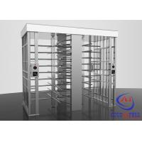 Quality Bi - directional Full Height Turnstiles Airports Subway Station Automatic Revolving Door for sale
