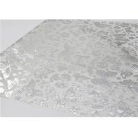 Quality Silver Hot Stamping Patterned Tissue Paper With Wax Gift Wrapping Paper 50 X 70 Cm for sale
