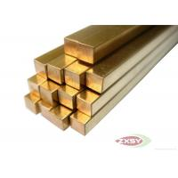 Buy Electrical Grounding Brass Copper Rods Bonded Rods With High Strength at wholesale prices