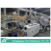 Quality Black Color Wpc Extrusion Line , Small Size Wpc Profile Extrusion Machine for sale