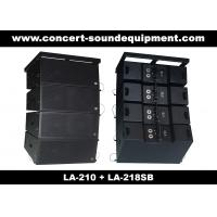 """Quality Concert Sound Equipment / 680W Line Array Speaker With1.4""""+2x10"""" Neodymium Drivers for sale"""