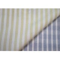 Quality Woven Technics Blended Striped Jacquard Fabric Soft Touch For Dress for sale