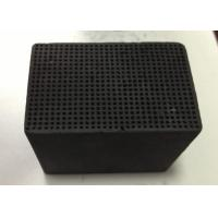 Quality Pollution Removal Honeycomb Activated Carbon 100X100X30mm Iodine Value 400-900 mg/G for sale